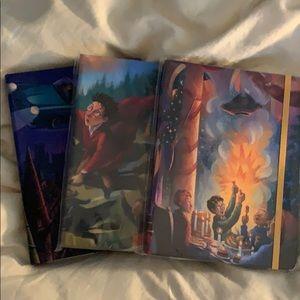 Trio of Harry Potter Journals
